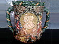 Royal Doulton George V Jubilee Loving Cup, 1935, No.599, Limited Edition of 1000.