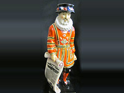 Beefeater Advertising Figure, Produced for The London Illustrated News, Produced: 1924.