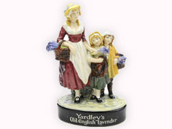 Yardley's Old English Lavender - Royal Doulton Figurine, Issued: Circa 1925, Artist: Leslie Harradine, Colour: Multi, Height: 9in.