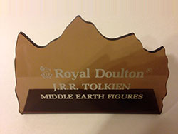 Middle Earth - Lord of the Rings - shop point of sale. Produced: c1981, Second Version, Rare.