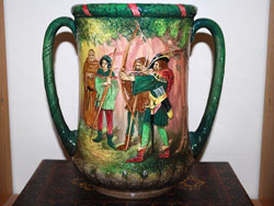 Royal Doulton Robin Hood Loving Cup, Issued: 1938. Limited Edition of 600.