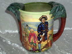 Royal Doulton Treasure Island Loving Cup, Issued: 1934. Limited Edition of 600.